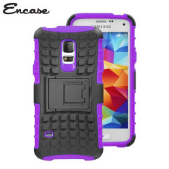 Encase ArmourDillo Samsung Galaxy S5 Mini Protective Case - Purple