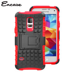 Encase ArmourDillo Samsung Galaxy S5 Mini Protective Case - Red