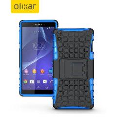 Encase ArmourDillo Sony Xperia Z3 Protective Case - Blue