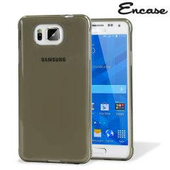 Encase FlexiSheild Samsung Galaxy Alpha Case - Smoke Black