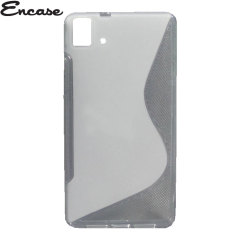 Encase FlexiShield BQ Aquaris E5 4G Case - Frost White