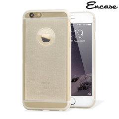 Encase FlexiShield Glitter iPhone 6 Gel Case - Clear