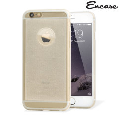 Encase FlexiShield Glitter iPhone 6 Plus Gel Case - Clear