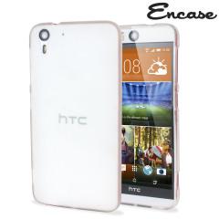 Encase FlexiShield HTC Desire Eye Gel Case - Frost White