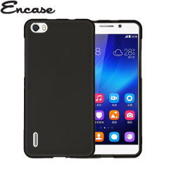 Encase FlexiShield Huawei Honor 6 Case - Black