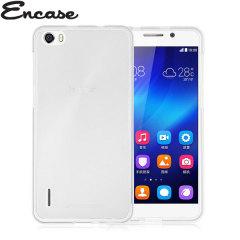 Encase FlexiShield Huawei Honor 6 Case - Frost White
