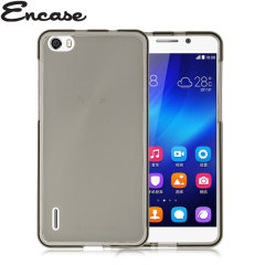 Encase FlexiShield Huawei Honor 6 Case - Smoke Black
