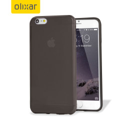 Encase FlexiShield iPhone 6 Plus Gel Case - Smoke Black