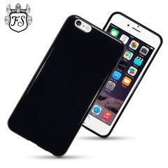 Encase FlexiShield iPhone 6 Plus Gel Case - Solid Black