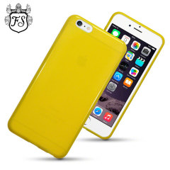 Encase FlexiShield iPhone 6 Plus Gel Case - Yellow