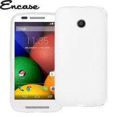 Encase FlexiShield Moto X 2nd Gen Gel Case - Solid White