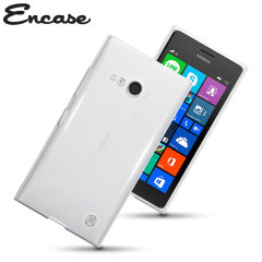 Encase FlexiShield Nokia Lumia 735 Gel Case - Crystal Clear