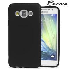 Encase FlexiShield Samsung Galaxy A7 2015 Gel Case - Black