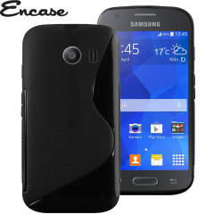 Encase FlexiShield Samsung Galaxy Ace Style Case - Black