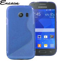 Encase FlexiShield Samsung Galaxy Ace Style Case - Blue