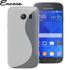 Encase FlexiShield Samsung Galaxy Ace Style Case - Frost White