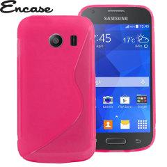 Encase FlexiShield Samsung Galaxy Ace Style Case - Pink