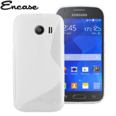 Encase FlexiShield Samsung Galaxy Ace Style Case - White