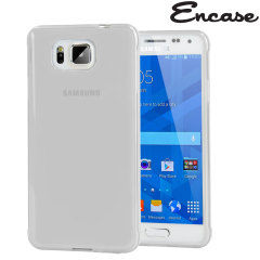 Encase FlexiShield Samsung Galaxy Alpha Case - Frost White