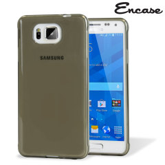 Encase FlexiShield Samsung Galaxy Alpha Case - Smoke Black