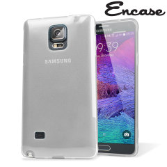 Encase FlexiShield Samsung Galaxy Note 4 Case - Frost White