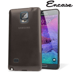 Encase FlexiShield Samsung Galaxy Note 4 Case - Smoke Black