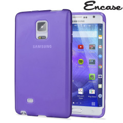 Encase FlexiShield Samsung Galaxy Note Edge Gel Case - Purple