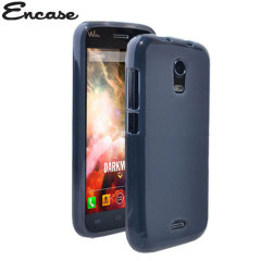 Encase FlexiShield Wiko Darkmoon Case - Smoke Black