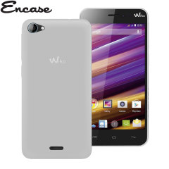 Encase FlexiShield Wiko Jimmy Case - Frost White