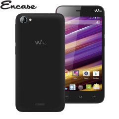 Encase FlexiShield Wiko Jimmy Case - Smoke Black