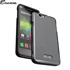 Encase Flexishield Wiko Rainbow Case - Black