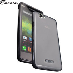 Encase Flexishield Wiko Rainbow Case - Smoke Black