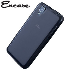 Encase FlexiShield Wiko Sunset Case - Smoke Black