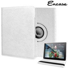Encase Flower iPad Air 2 Case - White