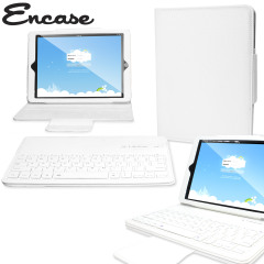 Encase iPad Air 2 Bluetooth Keyboard Case - White