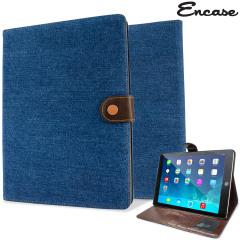 Encase iPad Air 2 Wallet Stand Case - Blue Jeans