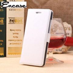 Encase Leather Style EE Kestrel Wallet Case - White