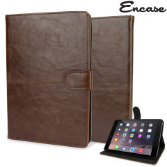Encase Leather-Style iPad Mini 3 / 2 / 1 Case - Light Brown