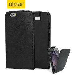 Encase Leather-Style iPhone 6 Wallet Flip Case - Black