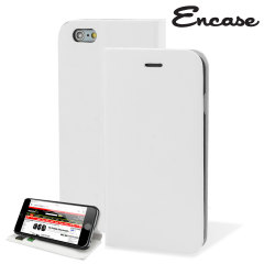 Encase Leather-Style iPhone 6S / 6 Wallet Case - White