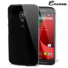 Encase Polycarbonate Moto G 2nd Gen Case - 100% Clear