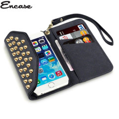 Encase Rock Chic Studded Leather-Style iPhone 6S / 6 Wallet Case