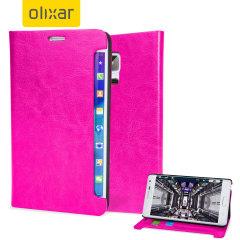 Encase Samsung Galaxy Note Edge Wallet Case - Hot Pink