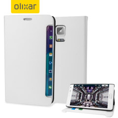 Encase Samsung Galaxy Note Edge Wallet Case - White