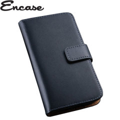 Encase Stand and Type Wiko Bloom Wallet Case - Black