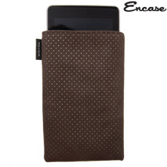 Encase Ultrasuede Pouch for Google Nexus 7 - Chocolate