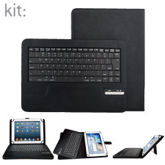Encase Universal Bluetooth Keyboard Case for 9-10 Inch Tablets