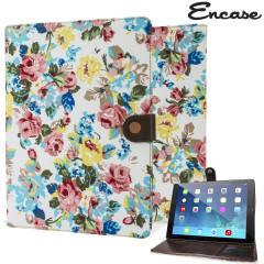 Encase Vintage Flower iPad Air 2 Case - White