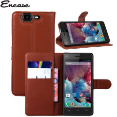 Encase Wiko Highway Wallet Case - Brown