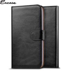 Encase Wiko Kite 4G Wallet Case - Black